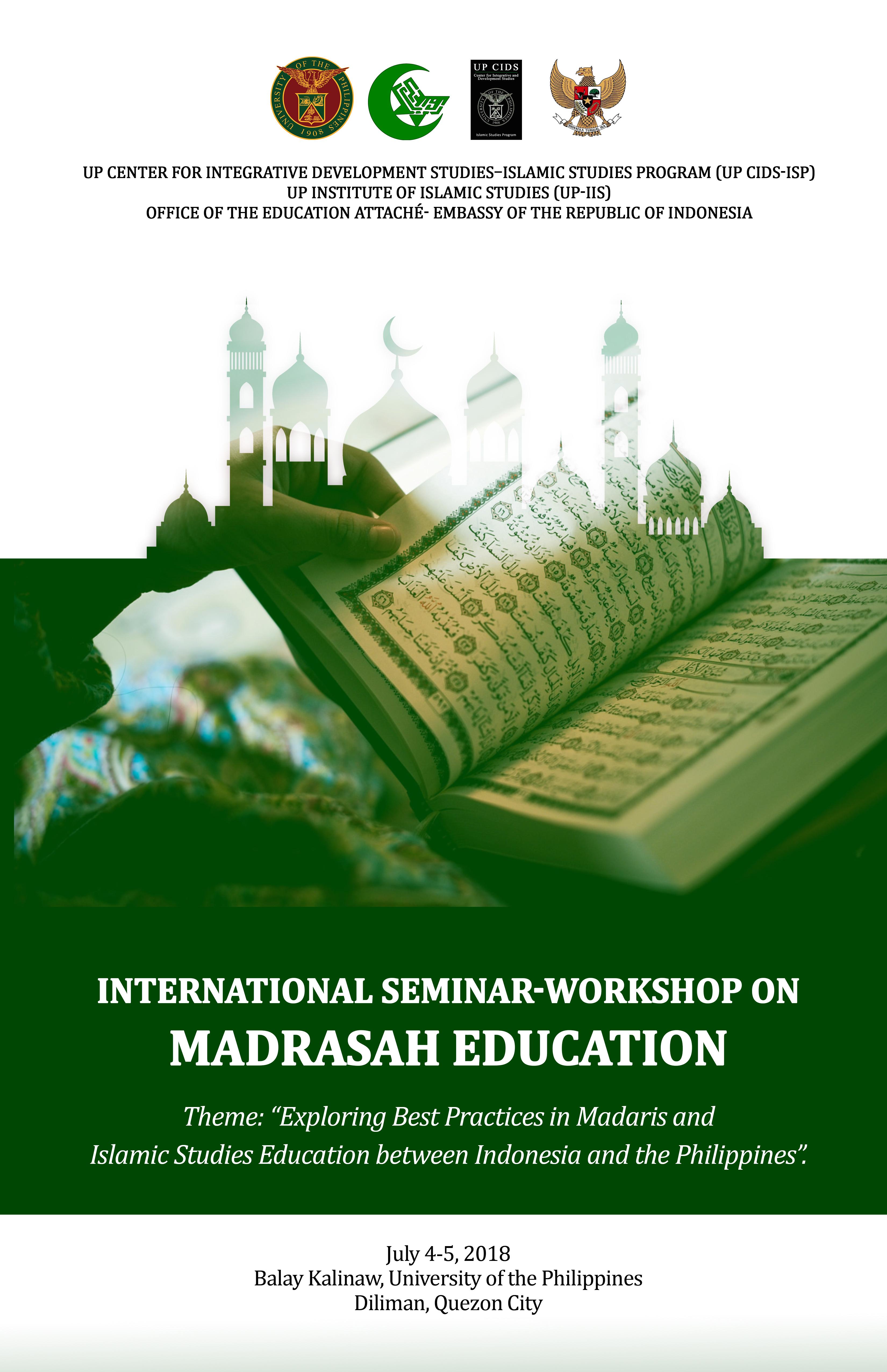 International Seminar-Workshop on Madrasah Education